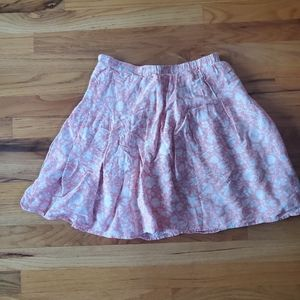 Old navy pink sea Hawaiian skater skirt
